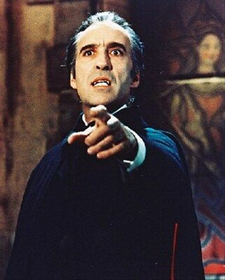 """CHRISTOPHER LEE AS DRACULA FROM TAS Poster Print 24x20"""""""