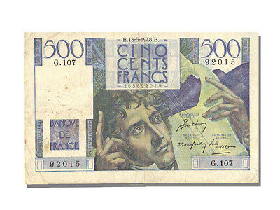 [#10129] 500 Francs Chateaubriand type 1945