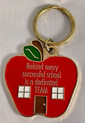 """Behind every successful school is a dedicated TEAM"" Keyrings/12/NIB!"