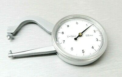 """Degree Gauge Jewelry MM Gauge 10mm Thickness Measuring Capacity Stainless 4"""" L"""