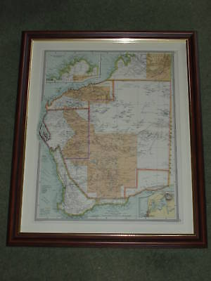 AUSTRALIA Goldfields; maps of Northern Continuation; Perth 1907 Western