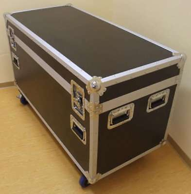 Tourcase ODV-1 120cm Transportcase Transportkoste Hardwarecase mit Blue Wheels