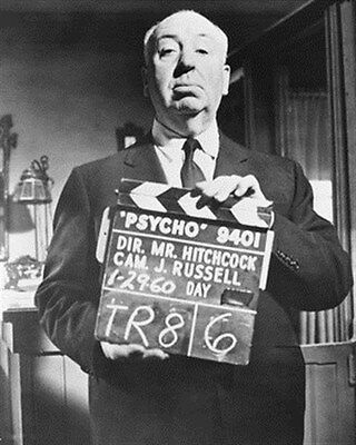 """ALFRED HITCHCOCK Poster Print 24x20"""" cool pic 179678"""