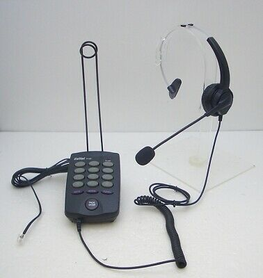 CallTel T100 Feature Headset Tone Dialing Telephone for SOHO Call Centers Office