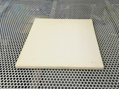 SOLDERING CERAMIC BOARD JEWELRY BENCH HEAT RESISTANT PLATE 6x6x1/2 SQUARE PLATE