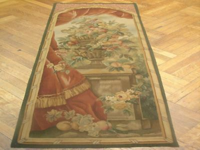Fine Quality 2X6 Antique Look Tapestry Wall Hanging Rug