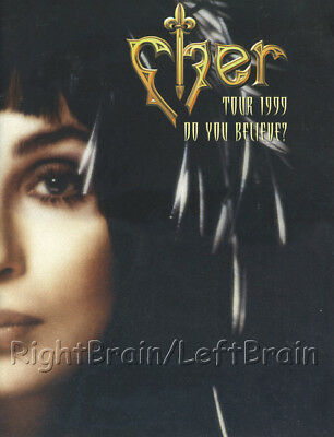 CHER 1999 DO YOU BELIEVE? Tour Concert Program Book