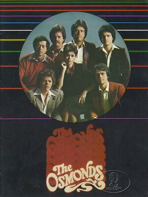 OSMONDS 1979 Tour Concert Program Book MARIE DONNY