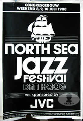 Ray Charles North Sea Jazz Festival 1988 Concert Poster