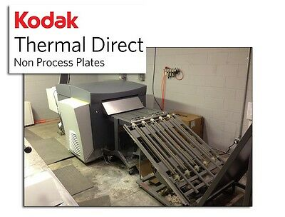 Kodak Thermal Direct non process printing plates