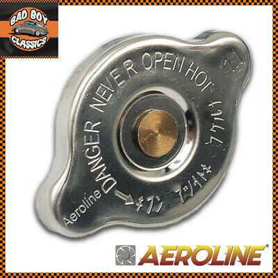 Aeroline® Uprated Polished Stainless Radiator Rad Cap For SUBARU IMPREZA 1.1BAR