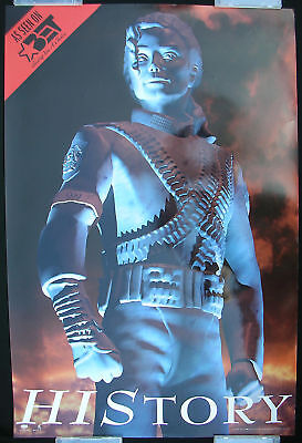MICHAEL JACKSON HIStory Tour Promo Only POSTER BET TV