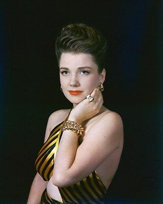 ANNE BAXTER 8x10 Photo classic image 266768
