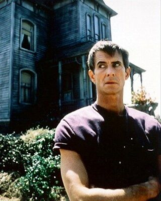 ANTHONY PERKINS AS NORMAN BATES FROM PSYCHO  8x10 Photo