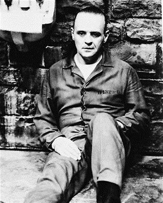 ANTHONY HOPKINS AS DR. HANNIBAL LECTER FROM  8x10 Photo classic image 16080