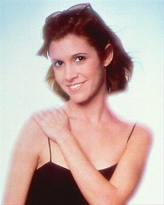 CARRIE FISHER 8x10 Photo classic pic 264847
