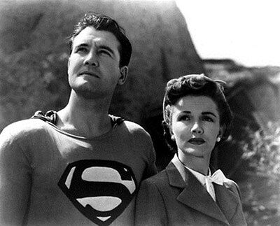 GEORGE REEVES AS SUPERMAN/CLARK KENT, PHYLLI 8x10 Photo classic photo 187764