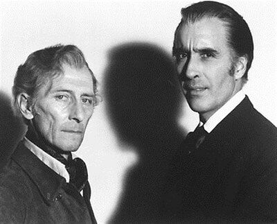 PETER CUSHING AS PROFESSOR VAN HELSING, CHRI 8x10 Photo
