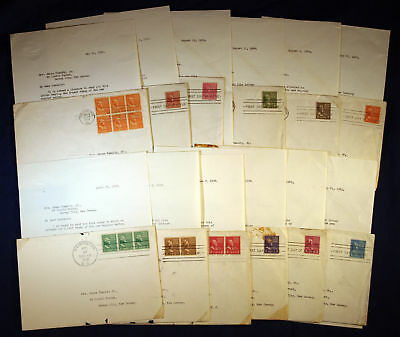 #803-815 Fdc Farley Signed Sent To Fdr - 12 Diff Bm3826