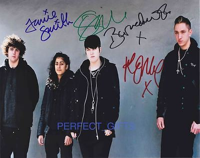 The Xx Band Signed 10X8 Pp Repro Photo