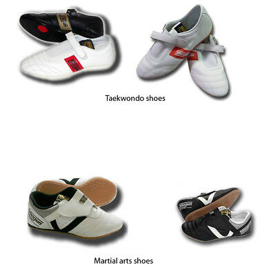 SHOGUN soft leather taekwondo shoes/martial arts shoes