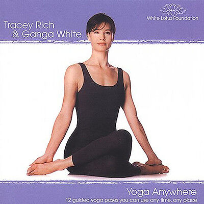 YOGA ANYWHERE: 12 Guided Yoga Poses... CD.... BRAND NEW