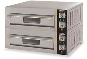 Double Deck French Style Electric Pizza Oven