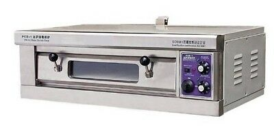 "Single Deck 15"" Stone Base Electric Pizza Oven"