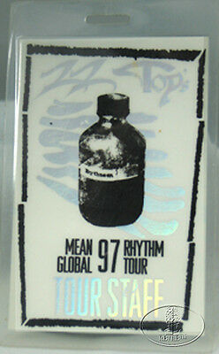 Zz Top 1997 Mean Rhythm Tour Laminated Backstage Pass