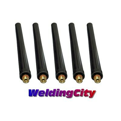 5-pk TIG Welding Back Cap 41V24 (Long) for Torch 9/20/25 | US Seller Fast Ship