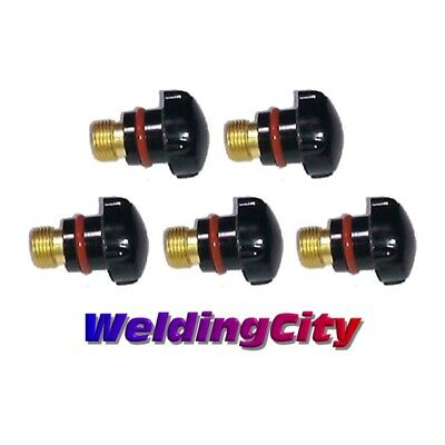5-pk TIG Welding Back Cap 57Y04 (Short) for Torch 17/18/26 | US Seller Fast Ship