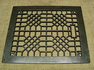 Vintage Cast Iron Register Grate > Antique Old 6071