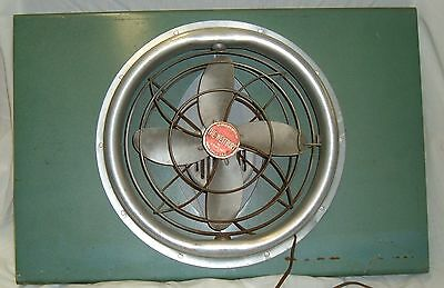 1950's Vintage Windown Fan Pivoting WESTBURY