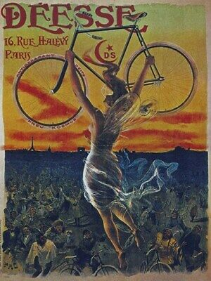 BICYCLE VINTAGE AD POSTER Rijwielen RARE HOT NEW 2