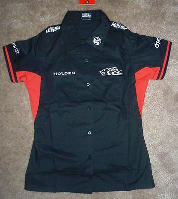 Bnwt Holden Racing Team Hrt Ladies Dress Shirt Blouse