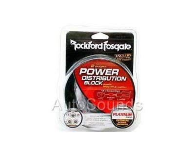 NEW Rockford Fosgate RFD1 1/0 4 AWG GAUGE INPUT OUTPUT Distribution D Block