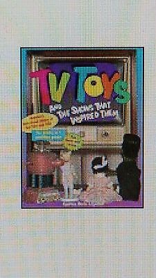 Tv Toys The Shows That Inspired Them Collectibles Book Paperback Store Stock