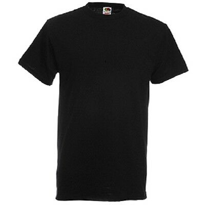 3 Stk T-Shirt schwarz Fruit of the Loom Super Premium