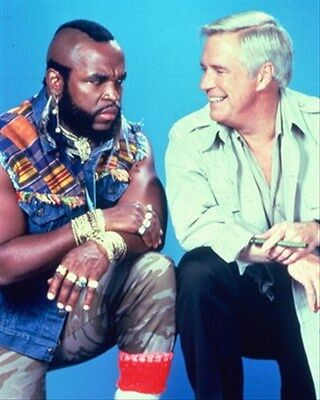 """THE A-TEAM TELEVISION PHOTO Poster Print 24x20"""" great image 264446"""