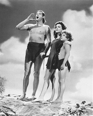 TARZAN FINDS A SON! MOVIE PHOTO Poster Print 24x20""