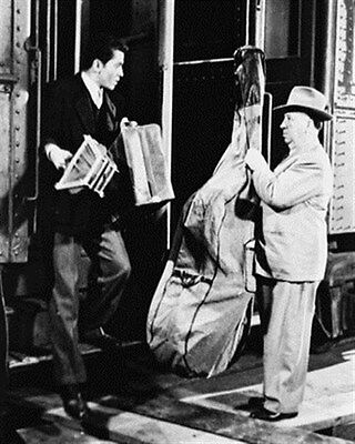 """STRANGERS ON A TRAIN MOVIE PHOTO Poster Print 24x20"""" cool photo 162102"""