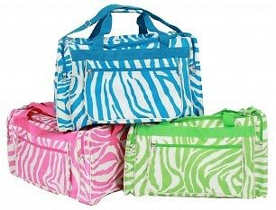 You Go Girl Zebra Bags
