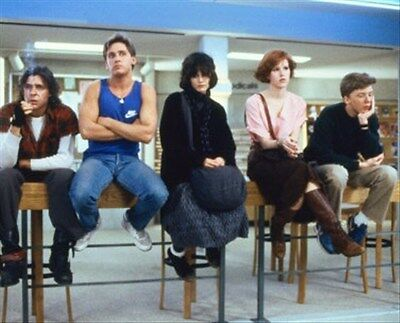 THE BREAKFAST CLUB MOVIE PHOTO 8x10 Photo Nice image 256623