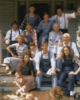 THE WALTONS MOVIE PHOTO 8x10 Photo classic pic 252615