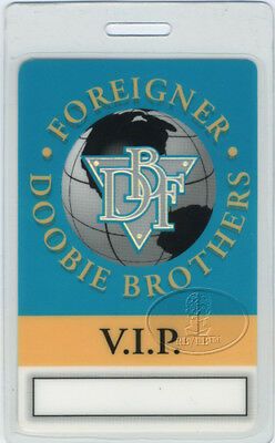 Doobie Brothers Foreigner 1994 Laminated Backstage Pass