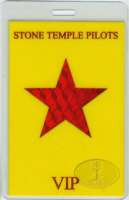Stone Temple Pilots 2000 Laminated Pass All Access Vip
