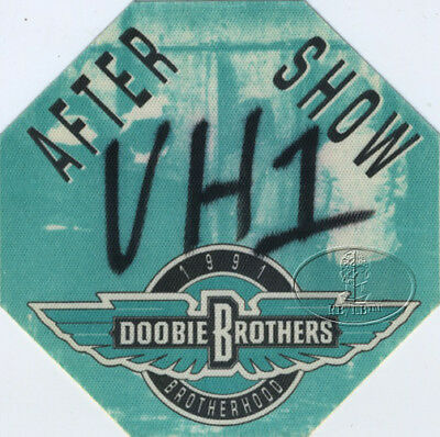 Doobie Brothers 1991 Tour Backstage Pass Aso
