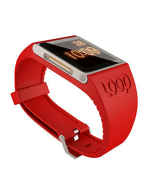 Loop Attachment Watch Band for iPod Nano 6th Gen - Red