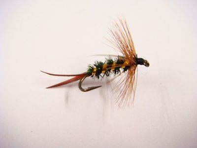3 x nymphes prince H12 fliegen mosca fly