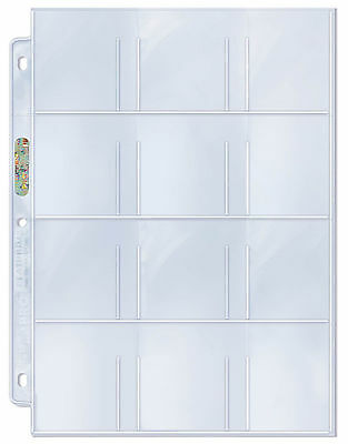 Ultra Pro Platinum 12 Twelve Pocket Pages 100 count